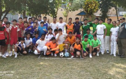 Inter House Football Tournament held at TIGPS- Mankundu on 29th November 2019